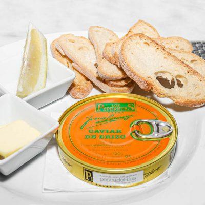 Caviar de erizo Peperete